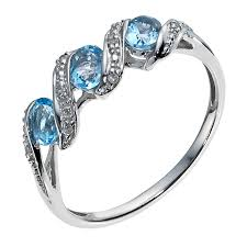 engagement rings with blue stones rings ernest jones