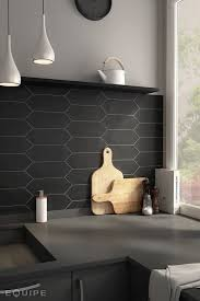 black backsplash kitchen trend spotting matte is back and looks better than