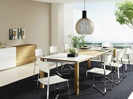 kitchen table lighting dining room modern