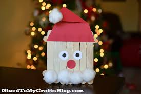 popsicle stick santa kid craft