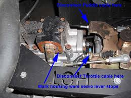 rtv500 throttle adjustments