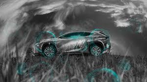 lexus lf nx lexus lf nx side grass style crystal nature car 2014 el tony