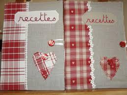 cahier cuisine cahier de recettes céline création couture