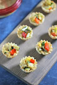 Summer Lunch Recipes Entertaining - summer entertaining with garlicky grilled veggie mini tarts