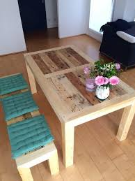 Diy Pallet Wood Distressed Table Computer Desk 101 Pallets by