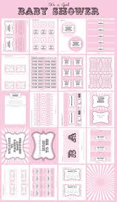 6 best images of free sample pink baby shower thank you printables