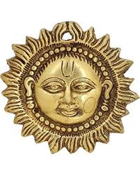 Religious Home Decor Amazing Deal On Indian Art Religious Gifts Sun Wall Hanging Brass