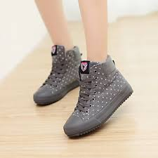 womens casual boots nz design winter waterproof polka dot fashion sneakers casual