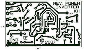 layout pcb inverter 1000w power inverter pcb layout design circuitos pinterest