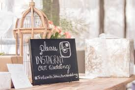wedding instagram wedding hashtag a popular wedding trend