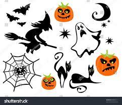 halloween cartoon background hand drawn halloween symbols stock vector 56171686 shutterstock