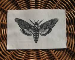 death head moth from the silence of the lambs tattoo