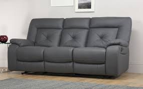 Belfast Sofas Sofa Belfast Reclining Lastmans Bad Boy Gray Leather Prescott Grey