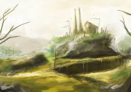 scenery sketch 3 by rainemaster on deviantart