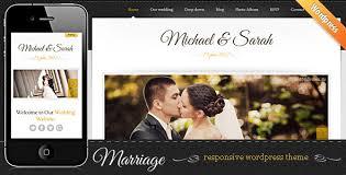 wordpress top 10 de wedding templates para casamentos