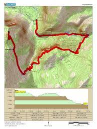 Yosemite Topo Map My Next Hiking Challenge Yosemite U0027s Panorama Trail 8 5km 13 7mi