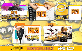 despicable me 3 hd 2017 wallpapers despicable me 3 folder icon pack by legendbelo on deviantart