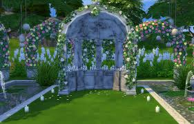 wedding arches in sims 4 le hangar sims 4 studio sims sims
