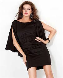 mini backless black jersey ruched night out club cocktail party dress