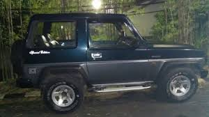 daihatsu feroza modifikasi dijual mobil daihatsu feroza tahun 1994 youtube
