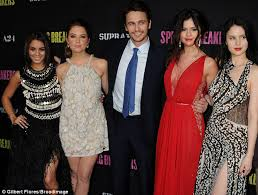 ashley benson and james franco get flirty at the spring breakers