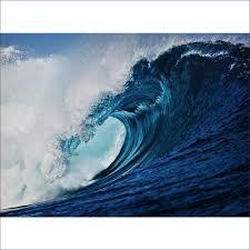surf wave wall mural 315cm x 232cm blue surf wave wall mural 315cm x 232cm
