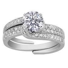 interlocked wedding rings interlocking engagement rings from mdc diamonds nyc