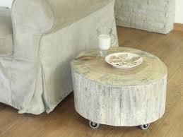 Trunk Like Coffee Table by Tree Trunk Side Table Scandinavian Style White Wooden Stump