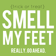smell my feet free printable halloween gift my sister u0027s