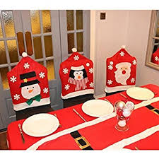 christmas chair back covers 4 x snowman hat chair back covers christmas party table
