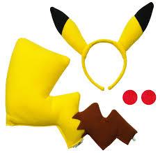 pikachu costume pikachu costume kit accessories makeup