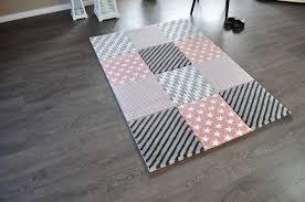 teppich rund rosa teppiche