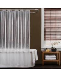 Shower Curtain Sale Here U0027s A Great Deal On Baltic Linen Peva Crackle Shower Curtain Clear