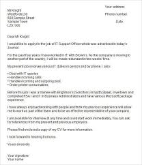 ideas of job application covering letter format uk about