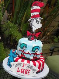 dr seuss birthday cakes plumeria cake studio dr seuss birthday cake featuring cat in the hat