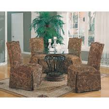 dining chairs impressive skirted parsons dining chairs images