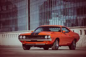 Dodge Challenger 1970 - dodge challenger r t 1970 orange muscle car dodge challenger