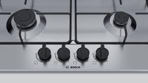 piano cottura bosh bosch piano cottura 60 cm inox griglie smalt acciaio pcp615b80e