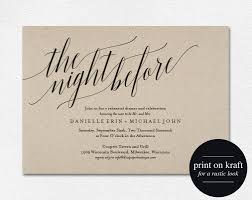 wedding rehearsal dinner invitations rehearsal dinner invitation from bliss paper boutique