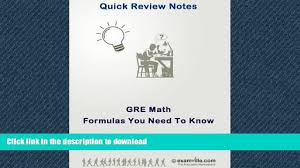 read general gre math formulas you need quick review notes full