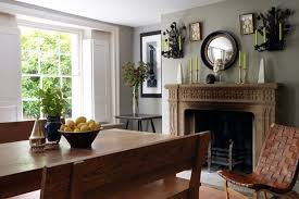 traditional grey small dining room ideas decorating small