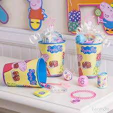 favor cups peppa pig favor cup idea party city