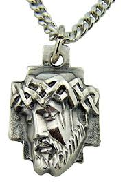 crown of thorns necklace silver toned base crown of thorns of jesus