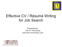 Resume Writing Classes Online by Effective Cv Resume Writing