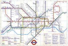 map of the underground in map underground major tourist attractions maps