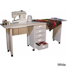 fold away sewing machine table sewing furniture for less overstock com