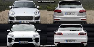 porsche cayenne reviews 2015 benim otomobilim 2015 porsche macan vs porsche cayenne visual