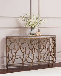hooker furniture console table hooker furniture atlantic golden console table