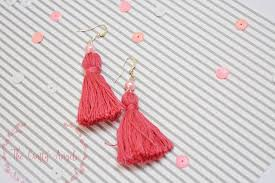 easy earrings diy tassel earrings tutorial