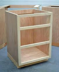 build your own kitchen cabinets kits face frame base kitchen